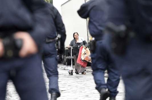 L'évacuation du bidonville du Samaritain à La Courneuve a commencé jeudi 27 août.