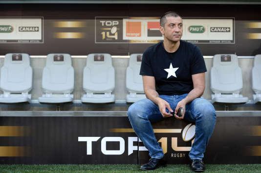 Mourad Boudjellal, le président du Rugby Club de Toulon, multiplie les sorties contre le Front national.