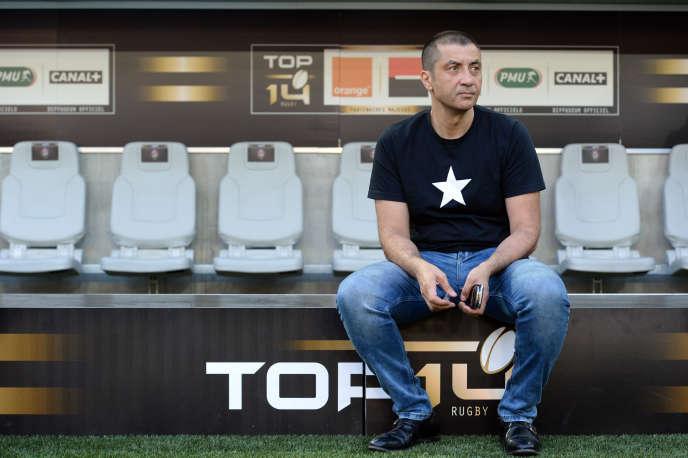 Mourad Boudjellal  en juin à Bordeaux.