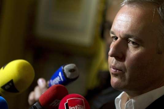 Le député François de Rugy a annoncé jeudi son départ de la formation écologiste, qui connaît une profonde crise depuis plusieurs années.