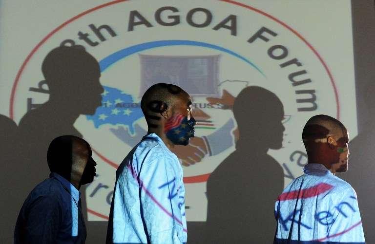 Lors du forum de l'AGOA, à Nairobi en 2009.