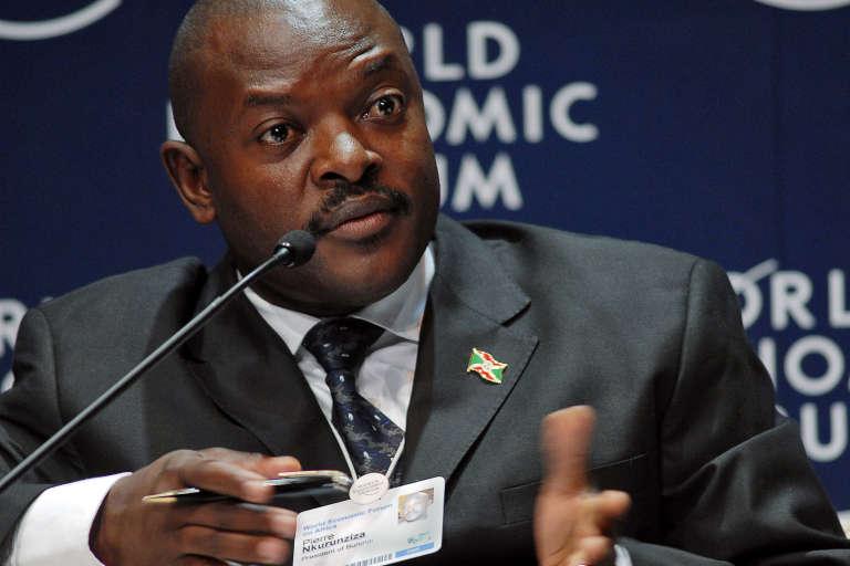 Le président burundais, Pierre NKurunziza, a affiché comme priorité de s'attaquer aux groupes armés de l'opposition.