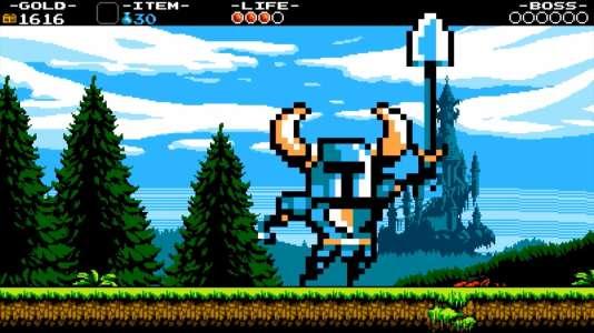 Une armure bleue, un casque à cornes et une pelle : les trois attributs d'un héros qui, en seulement un an, a fait sa petite place dans le paysage vidéoludique.