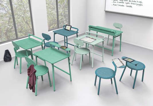 En 2015, Prism Design Studio a reçu le prix Jean Prouvé, qui récompense des créations pour le mobilier scolaire.
