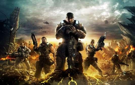 """""""Gears of Wars"""" évoque avant tout des films d'action hollywoodiens."""