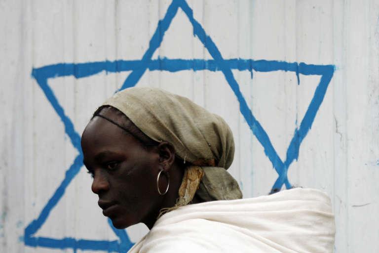 Une éthiopienne de confession juive, en 2007 à Addis Abeba (Ethiopie).