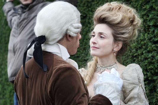 Julie Gayet incarne son propre rôle dans la série « Dix pour cent », sur France 2.