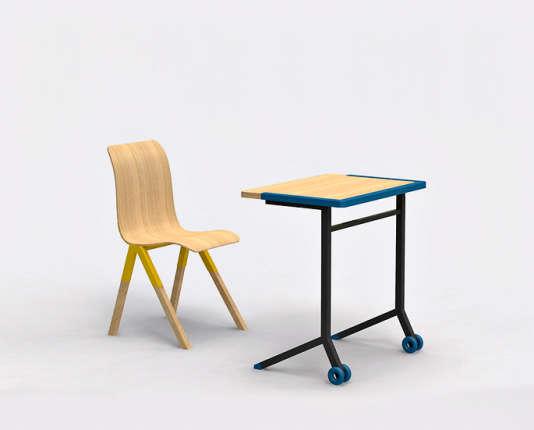 Unqui Designers a reçu en 2015 le prix Jean Prouvé, qui récompense des créations pour le mobilier scolaire.