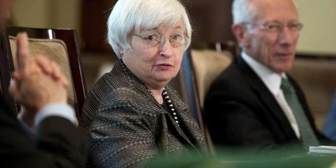 Janet Yellen, la présidente de la Réserve fédérale américaine (Fed), le 20 juillet.