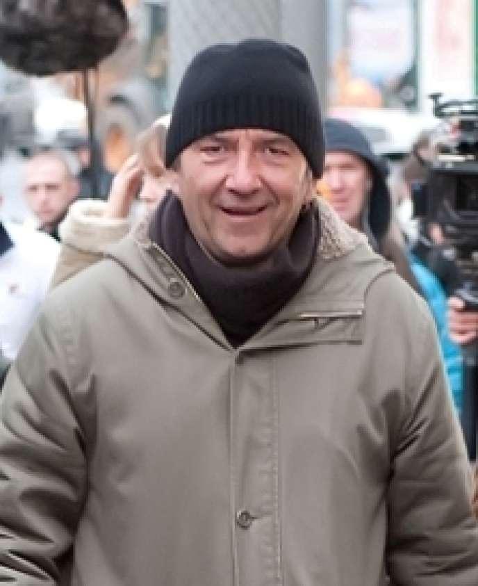 Pascal Chaumeil à Moscou, en 2011.