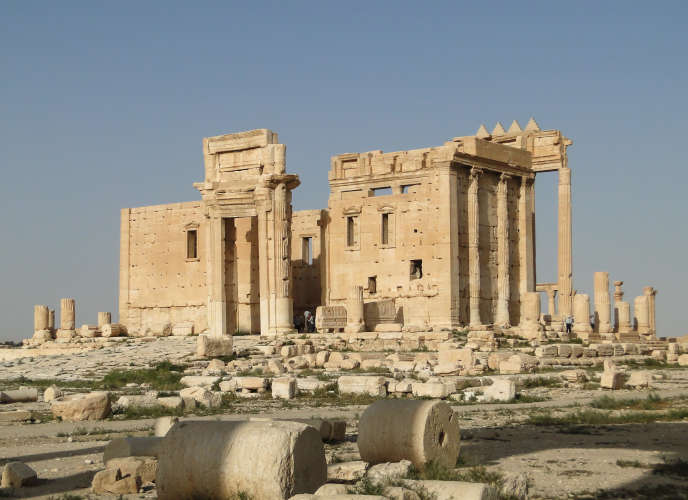 Le temple de Bêl à Palmyre, avant sa destruction par l'Etat islamique.