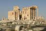 Le temple de Bêl, à Palmyre (Syrie), avant sa destruction partielle par l'organisation Etat islamique en août 2015.