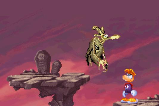 Au-dessus de Rayman, 20 ans ce 1er septembre, un poulet-zombie, jolie illustration de ce qu'il reste de l'industrie française du jeu vidéo des années 1990.