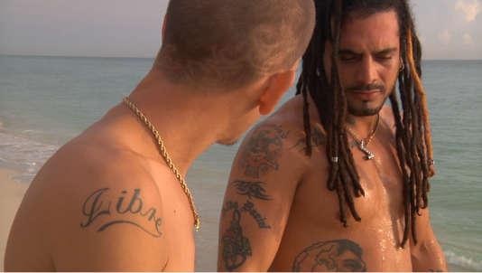 """Une scène du film documentaire français de Léa Rinaldi, """"Esto es lo que hay, chronique d'une poésie cubaine""""."""