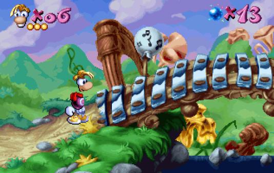En 1995, le premier Rayman étonne par son univers haut en couleurs, sa patte graphique recherchée et ses niveaux soignés.
