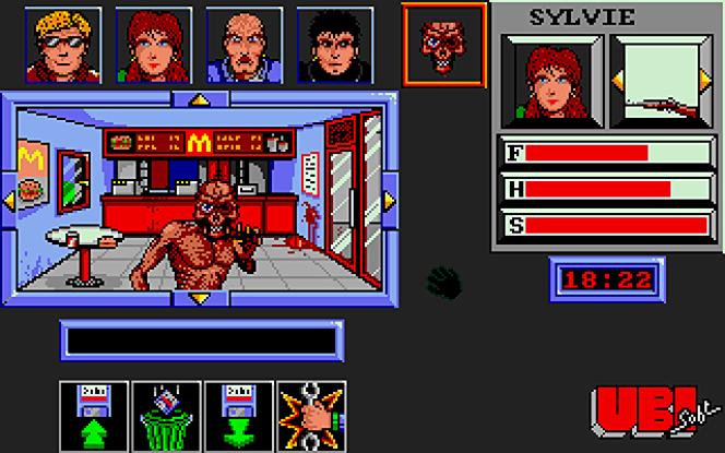 En 1986, Ubi Soft (en deux mots, à l'époque) dessinait ses premiers zombies à l'écran.