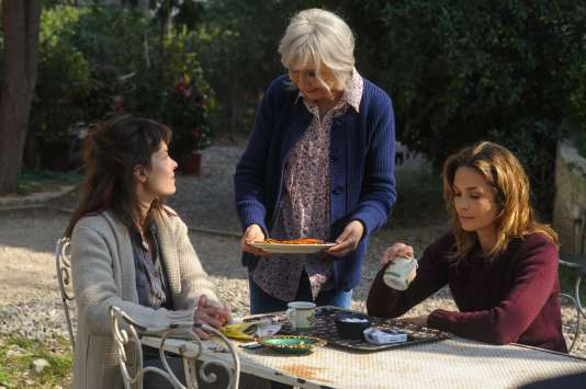 Armelle Deutsch (Karine Delval), Marie-Anne Chazel (Marianne Stocker) et Barbara Schulz (Lise Stocker).