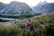 Entraînement avant le départ de l'Ultra-Trail du Mont-Blanc, en 2015.