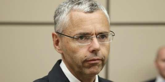 Michel Combes, l'ancien patron d'Alcatel-Lucent et nouveau PDG d'Altice, en juin 2015.