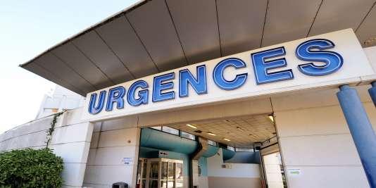 Les urgences du CHU de Grenoble, le 5 janvier 2014.