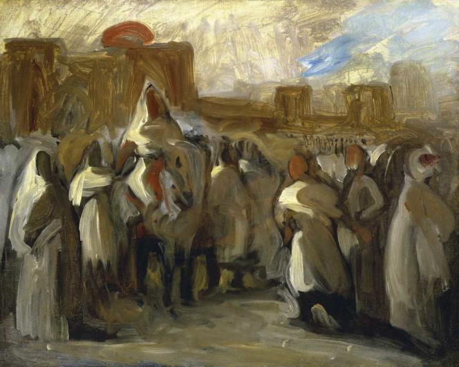 Esquisse d'Eugène Delacroix, 1832.