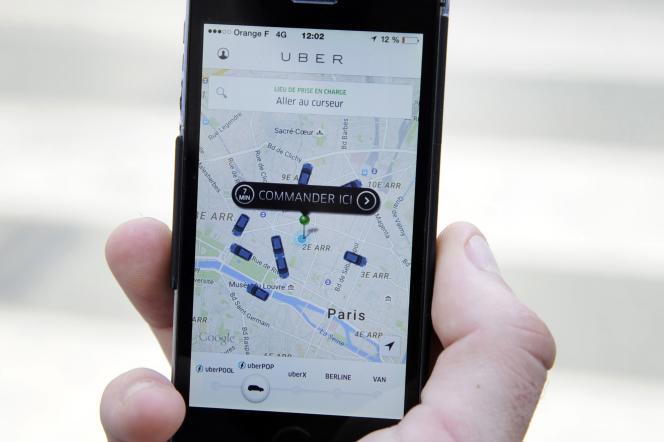 Le logiciel« Greyball» pouvait afficher de fausses voitures sur les cartes d'Uber.