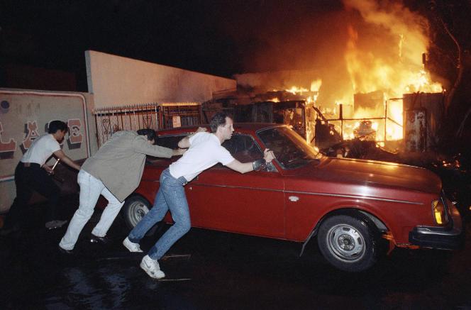 Los Angeles, 1er mai 1992.