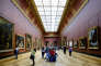 Au Musée du Louvre.