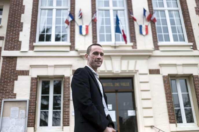 Cyril Nauth, maire de Mantes-la-Ville (Yvelines), en mars 2014.