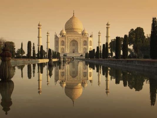 Près de 6,5 millions de personnes ont visité le Taj Mahal en 2016, selon le gouvernement indien.