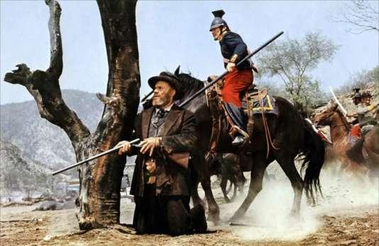 """Pasteur texan et cuirassier français dans """"Major Dundee"""", de Sam Peckinpah (1965)"""