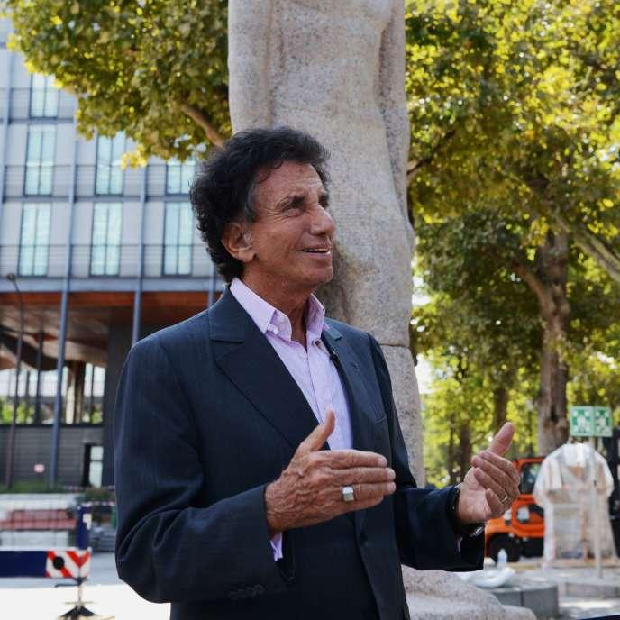 Le président de l'Institut du monde arabe et ancien ministre de la culture, Jack Lang, à Paris en août 2015.