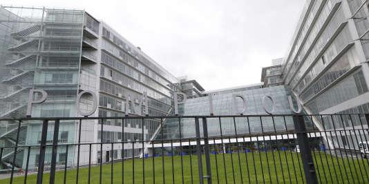 L'hôpital Georges-Pompidou, dans le 15earrondissement de Paris, en 2014.