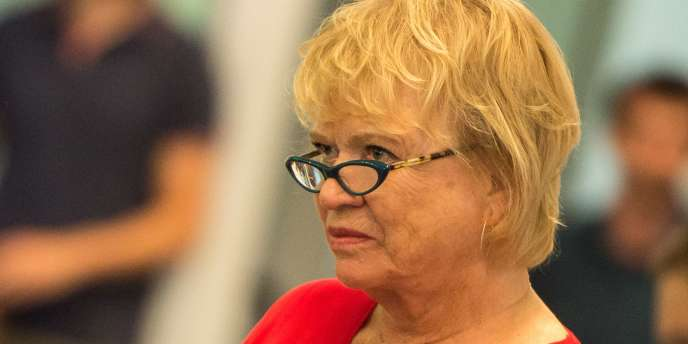 La députée européenne Eva Joly, en août2015.