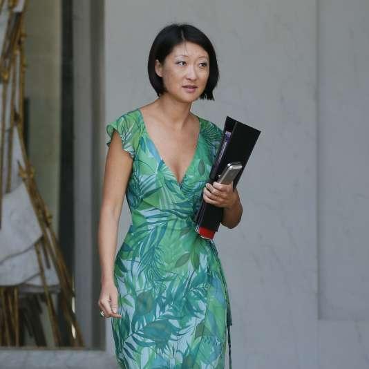 Fleur Pellerin, la ministre de la culture, le 26 août.