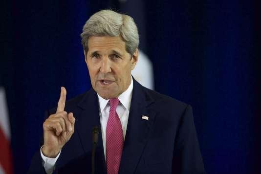 John Kerry, le secrétaire d'Etat américain, le 2 septembre 2015 à Philadelphie.