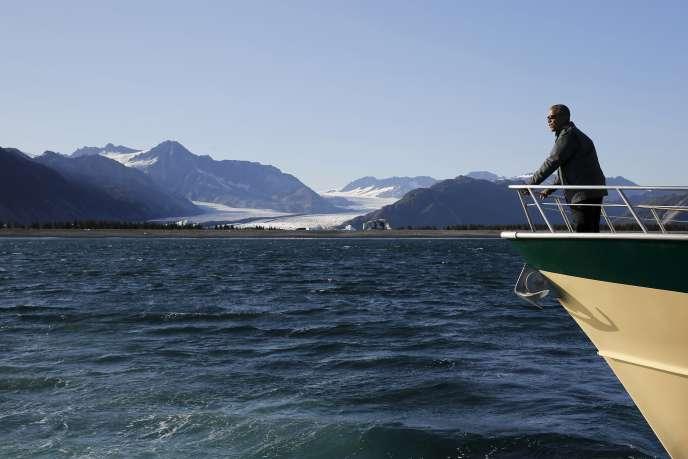 Le président américain Barack Obama en Alaska, le 1er septembre 2015.