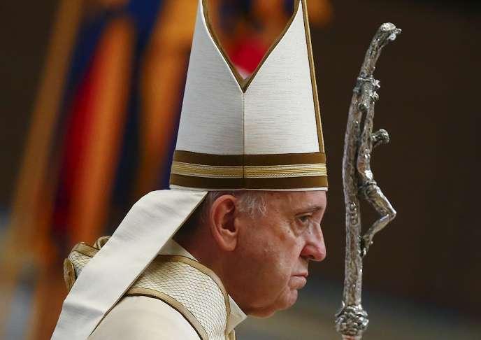 Le pape François au Vatican le 1er septembre 2015.