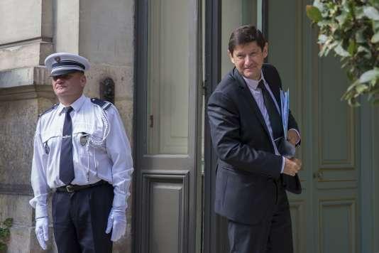 Patrick Kanner, ministre de la Ville, au ministère de l'intérieur, à Paris, le 2 septembre.