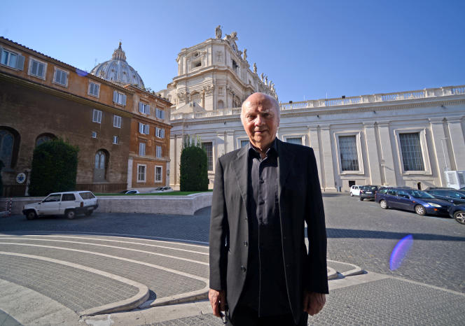 Jacques Gaillot, mardi 1er septembre au Vatican.
