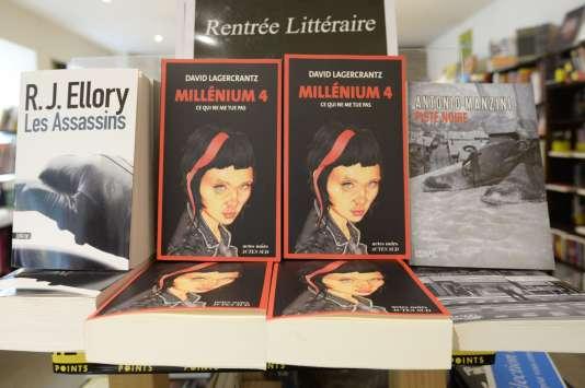 Le quatrième tome de la saga « Millénium » est sorti en août 2015.