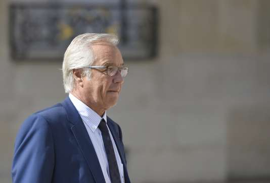 François Rebsamen, le 2 septembre, jour de la passation de pouvoir au ministère de l'emploi, qu'il a quitté pour retourner à la mairie de Dijon.