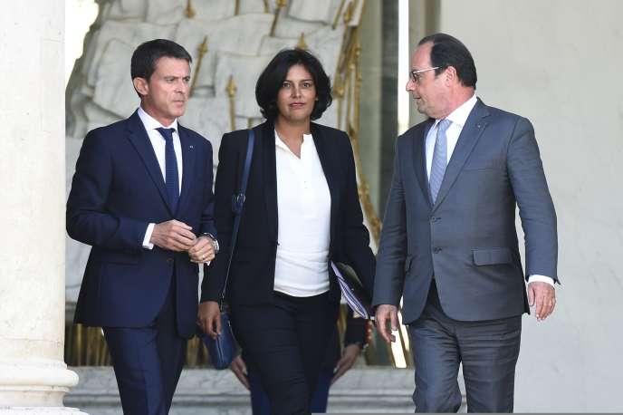 Entrée dans l'équipe de Manuel Valls lors du dernier remaniement, Myriam El Khomri a séduit l'exécutif par son travail et sa présence sur le terrain.