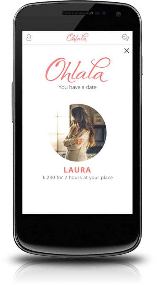 L'application Ohlala.