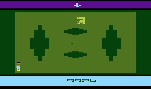 """""""E.T."""", en 1982, est souvent présenté de manière caricaturale comme le """"pire jeu vidéo du monde"""", et l'une des causes du crash de 1983."""
