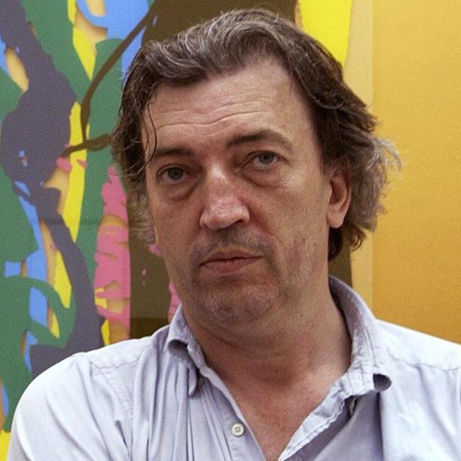 L'artiste Jean-Marc Bustamante lors de la Biennale de Venise en juin 2003.
