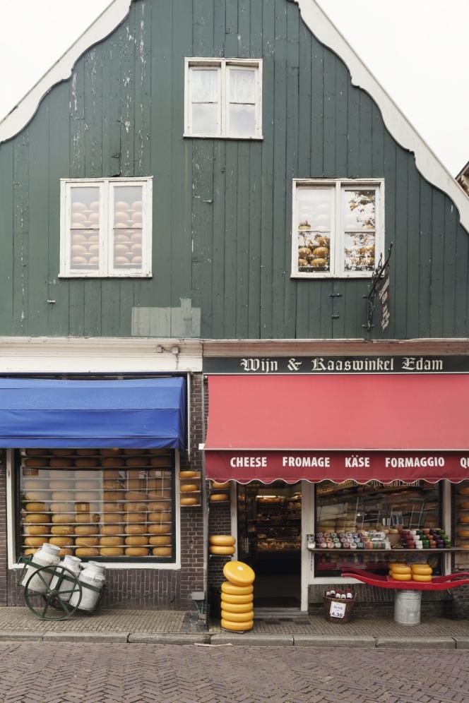 Edam, la ville du fromage.