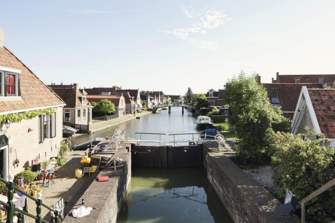 Un canal à Hindeloopen.