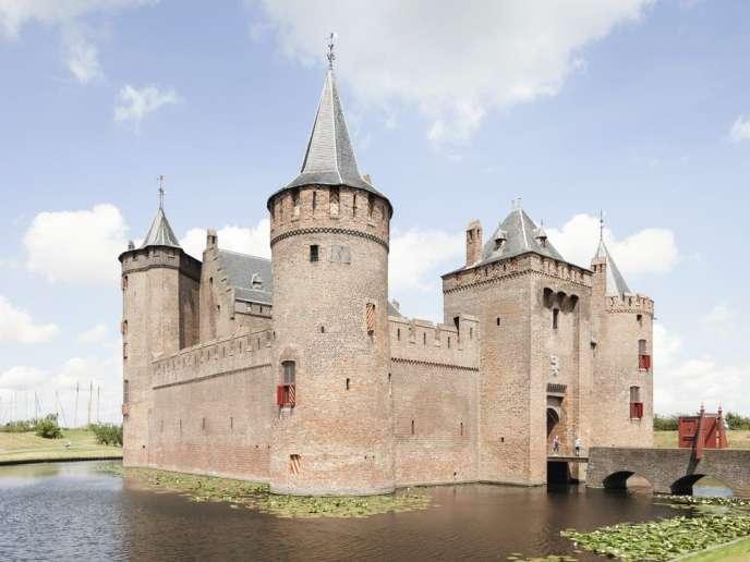 Le château de Muiderslot.