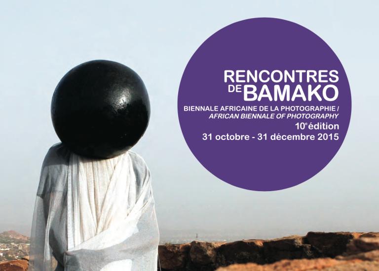L'affiche des Rencontres de Bamako 2015